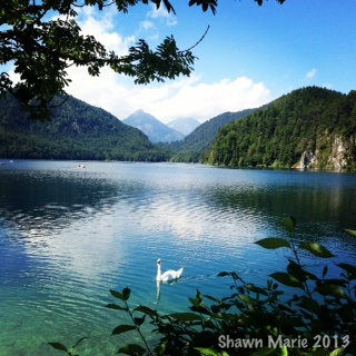 Lake Alpsee, Bavaria, Germany