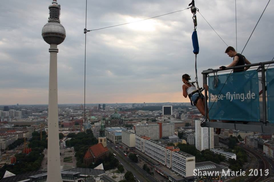 Base Flying and Bravery in Berlin, Germany